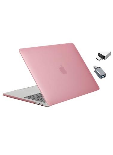 """Mcstorey Yeni MacBook Pro Type-c A1707 A1990 15.4"""" Kılıf Kapak Hard case Mat Ekru"""